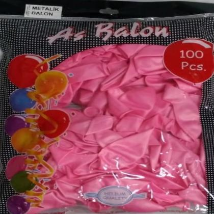 as-metalik-acik-pembe-balon-100-lu-adm33