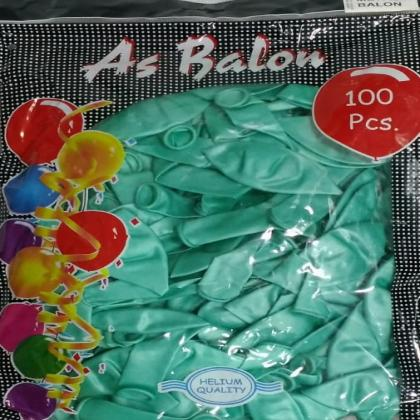 as-metalik-balon-su-yesili-100-lu-adm23